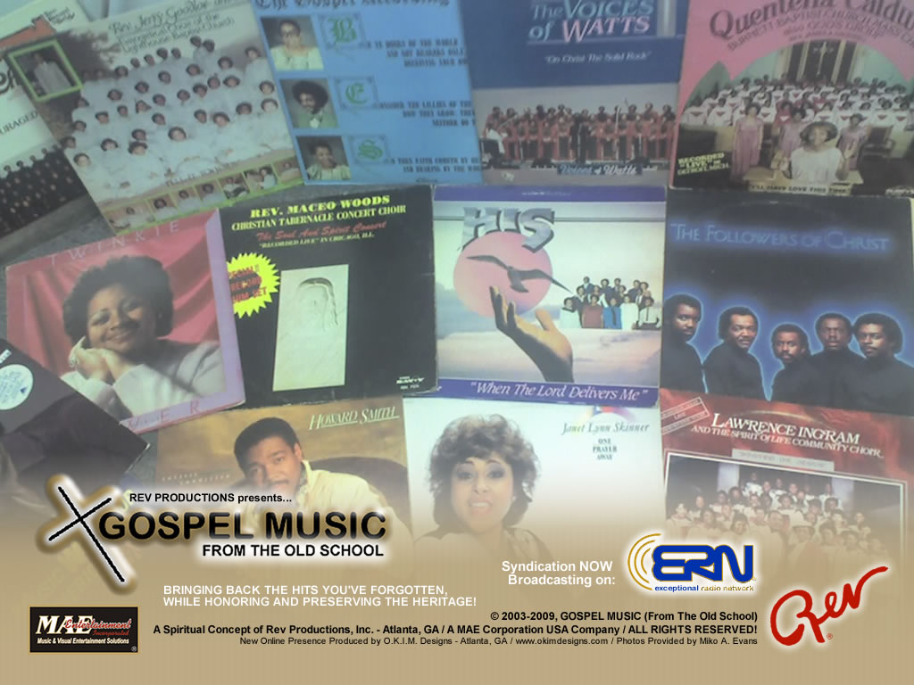 Official Desktop Wallpapers - Rev Productions, Inc. (Gospel Music Subsidiary